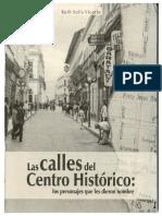 Las Calles Del Centro Histórico de Xalapa y Sus Nombres