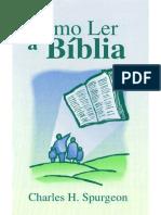 Como Ler a Biblia melhor