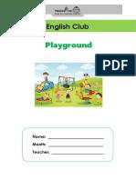 English Club - Playground Pack