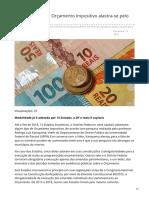 VALOR_Ribamar Oliveira Orçamento Impositivo Alastra-se Pelo País