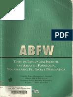 Livro - ABFW - Teste de Linguagem Infantil