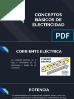 Conceptos Básicos de Electricidad.