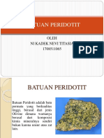 BATUAN PERIDOTIT