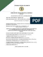 Formatos Vinculación Sep 2019 - Ene