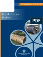 Durable Concrete Pipeline