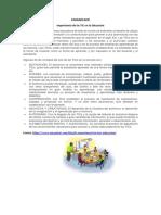 COMUNICADO-Importancia de las Tic en educacion