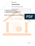 Macro 5 - Interest Rate Determination