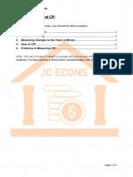Macro 4 - Money and CPI
