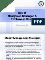Pertemuan 17 Manahemen keuangan &  Pembiayaan Usaha 2