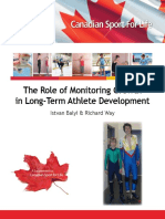 The Role of Monitoring Growth in Long-Term Athlete Development - Canadian Sport for Life