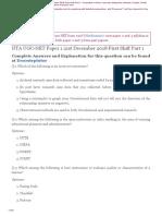 NET-Paper-1 Questions-21 Dec 2018 Combined First Shift