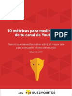 10 metricas para medir tu canal de youtube