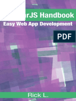 Rick L. - AngularJS Handbook_ Easy Web App Development (2016)
