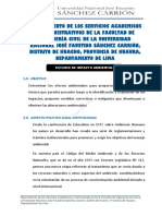 Impacto Ambiental - UNJFSC