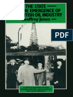 The State and the Emergence of the British Oil Industry