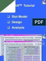 SWAN-Tutorial-Slot-Model-Design-Analysis
