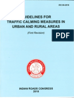IRC 99-2018 Guidelines for Traffic Calming Measures in Urban and Rural Areas.pdf