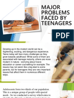 MAJOR PROBLEMS  FACED BY TEENAGERS2.0.pptx