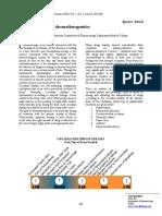 Chronobiology and Chronotherapeutics