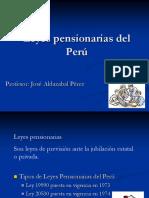 Leyes Pensionarias Del Perú