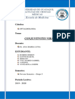 CONJUNTIVITIS VIRAL OFTALMO