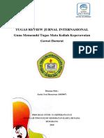Tugas Review Gadar Yosi Inetrnasional