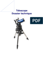 Telescope Dossier Technique
