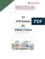 An STPD Analysis of Pidilite