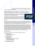 Cement, Rating Methodology, May 2017 (Archived)