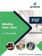 Weekly Oneliners 1st to 7th Dec Eng 60