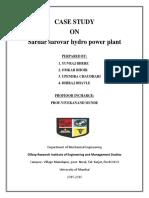 Sardar sarovar hydro power plant