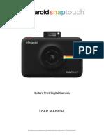 Snap Touch User Manual-EN-2019