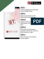 Mobile APP Manual