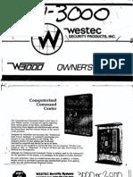 Westec Security - W3000 User Manual[2]