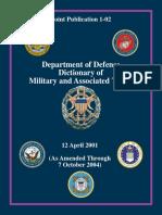 美军军事术语词典