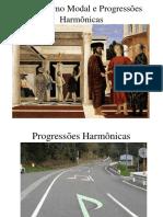 Empréstimo Modal e Progressões Harmônicas