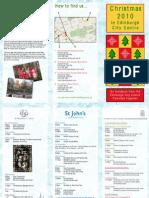 Together Christmas Flyer