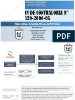 RESOLUCIÓN DE CONTRALORIA N° 320-2006-CG