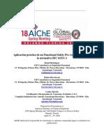 Final Paper - Aplicacion Practica de Un Functional Safety Pre-Assessment Segun La Normativa IEC 61511-1 - E. Berroteran