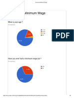 discussing minimum wage charts
