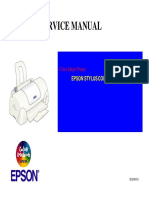 Epson Stylus Color 680-777 Service Manual