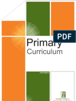 ACRRM Primary Curriculum 3rd Edition 25-09-09 With Cover