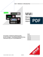 MMI Mensch Maschine Interface