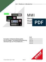 MMI Mensch Maschine Interface