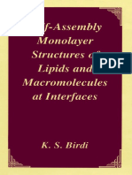 K.S. Birdi - Self-Assembly Monolayer Structures of Lipids and Macromolecules at Interfaces-Kluwer Academic_Plenum Publishers (1999)