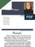 Pietro Perugino com texto apresentação