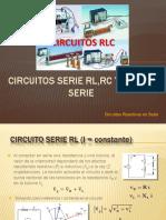 CIRCUITO SERIE RL. RC, RLC