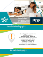 3.3.1 Modelos Pedagógicos Presentación