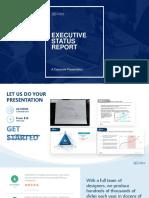 Executive Status Report-corporate