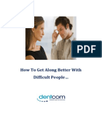 How to Get Along Better With Difficult People DISC